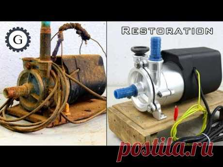 Electric Water Pump Restoration | Soviet Water Pump