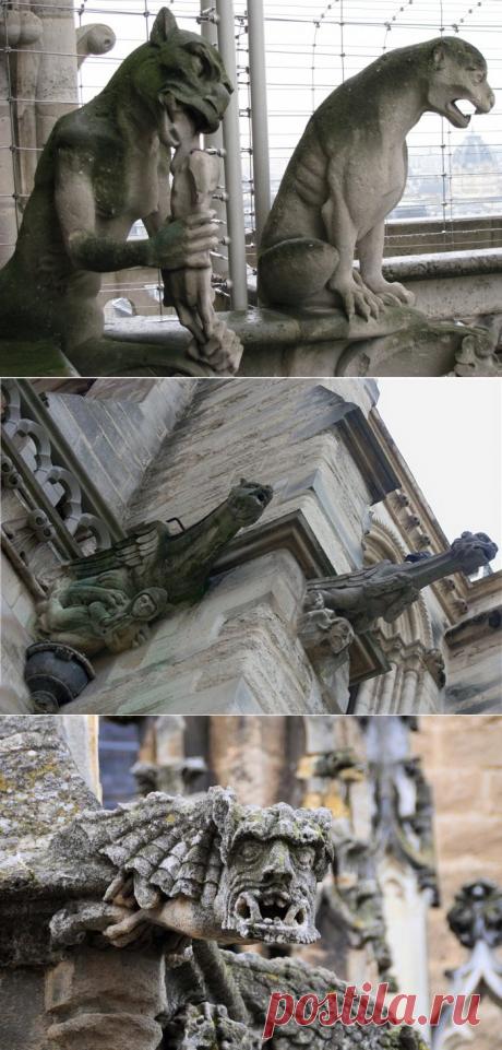 Пугающая архитектура: гаргульи, химеры и прочая гротескная нечисть