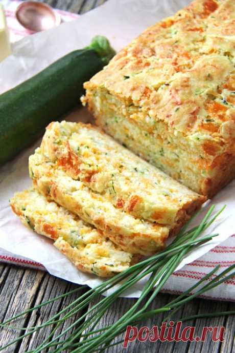 Сырный пирог из кабачков - InVkus