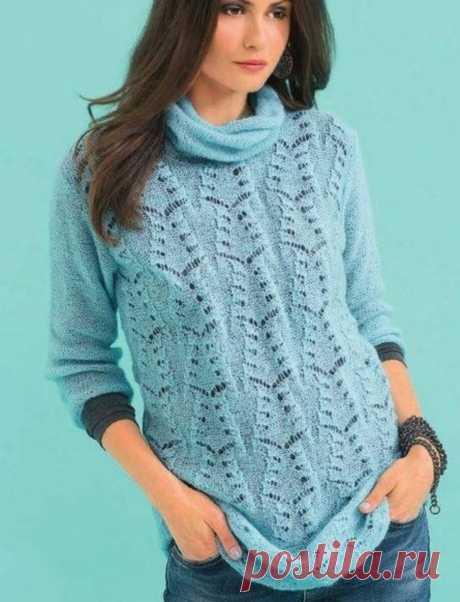 Невесомые пуловеры для любительниц прекрасного.🌺   Asha. Вязание и дизайн.🌶   Яндекс Дзен