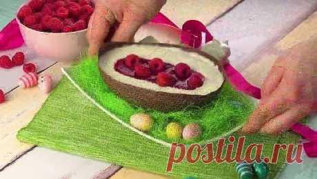 Вот как готовится самое вкусное пасхальное яйцо
