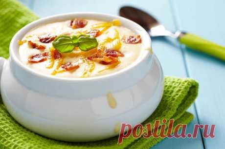 6простых сырных супов