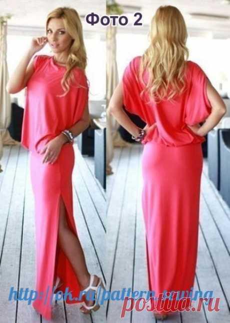 Шьем платье просто и легко