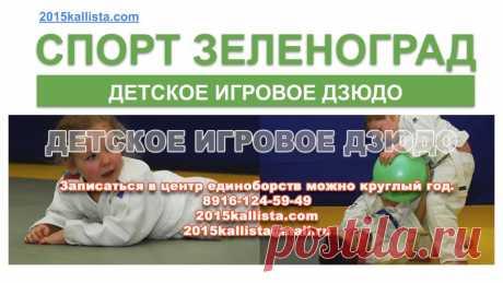 Детское игровое дзюдо в Зеленограде