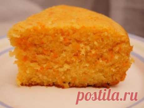 Морковный бисквит в мультиварке Морковный бисквит в мультиварке.
