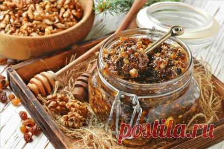 Витаминная смесь из сухофруктов и орехов для иммунитета | Вкусное хобби | Яндекс Дзен