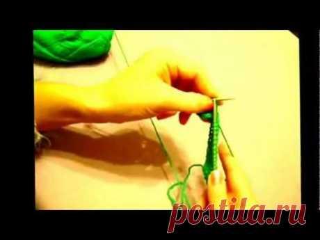 Разные способы вязания спицами