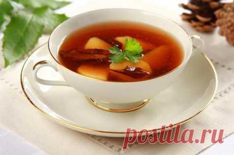 Грибной бульон из сушеных грибов – пошаговый рецепт с фото.