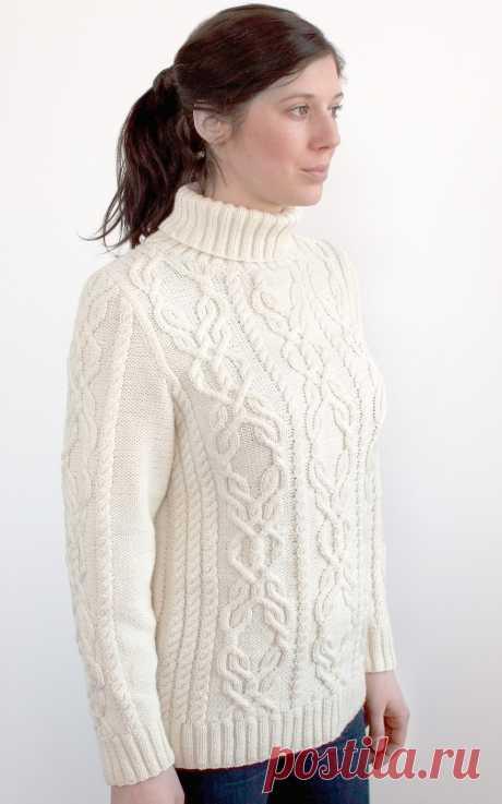 Белый свитер Centeno - Вяжи.ру