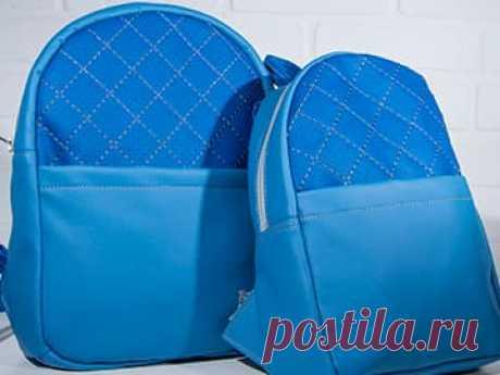 Выкройка для пошива рюкзаков для мамы и ребенка Подробная выкройка с мастер-классом для пошива рюкзаков двух размеров, детского и взрослого. В выкройке указаны: размеры, припуски, расположение деталей, описание.