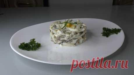 Такой салат из КАЛЬМАРОВ часто готовлю на ужин, но можно и гостям предложить | Готовим просто вкусно быстро | Яндекс Дзен