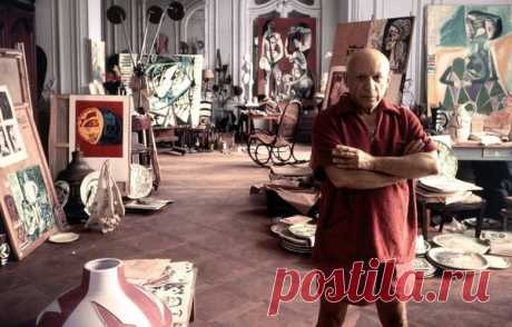Как Пикассо создавал шедевры. | История картин | Яндекс Дзен