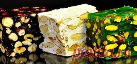 Халва, лукум, нуга и козинаки. 8 рецептов восточных сладостей Халва, которую мы покупаем в магазине, чаще всего изготовлена из семян подсолнечника, арахиса, кунжута, но эту сладость можно сделать еще из муки или манки. Попробуйте, вкус у такой халвы очень необычный.