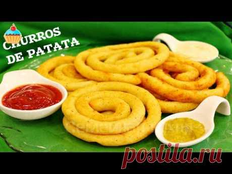 Спиральки или Чуррос из картофеля - ну, оОчень вкусно!