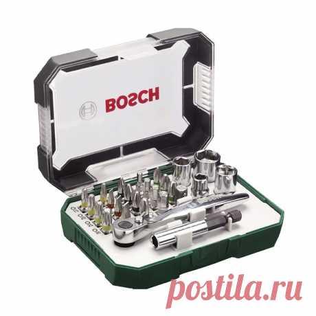Хорошая цена на мини-трещотку Bosch PromoLine с набором бит и головок (26 шт)  Забираем купон продавца -200 руб. и используем промокод ALIKPLATI185 ещё -185 руб. В наших магазинах выходит на 30-40% дороже.