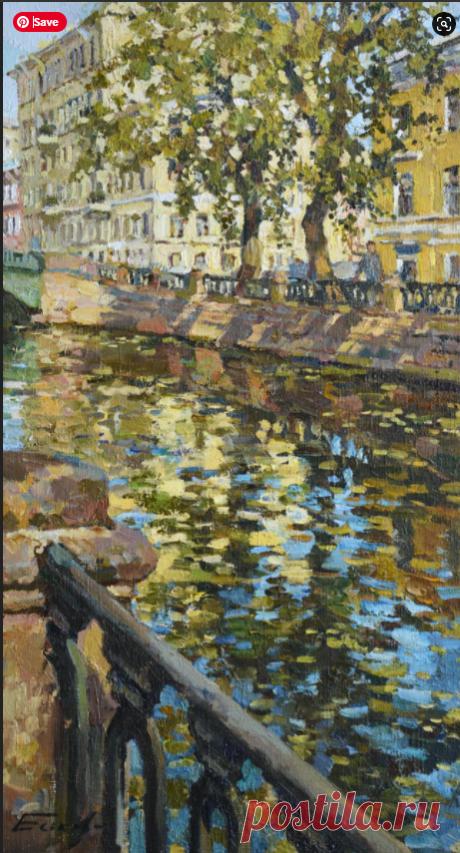 Петербург - этюды, малый формат – 9 фотографий