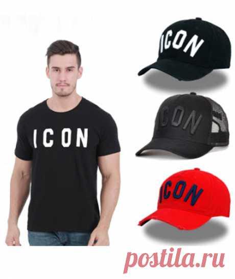BRAND FASHION T-SHIRT DSQICOND2 брендовая модная футболка с буквенным принтом в стиле хип-хоп, Спортивная футболка для мужчин и женщин, футболка с рукавом, сетчатая бейсболка, шапка для папы