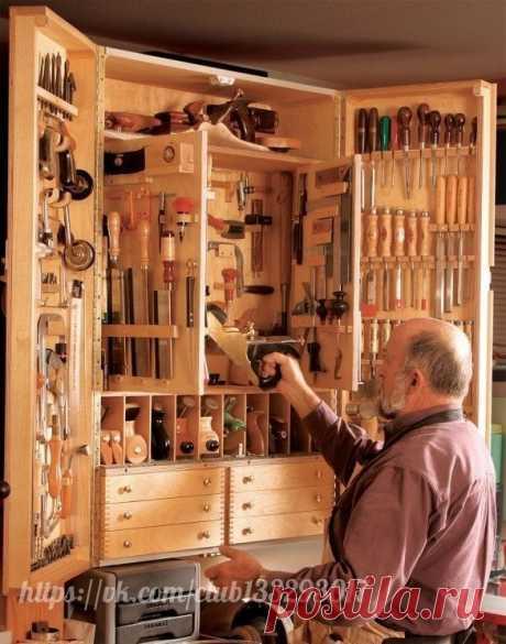 Что сделать, чтобы в кладовке или гараже стало легко поддерживать порядок — Сделай сам, идеи для творчества - DIY Ideas
