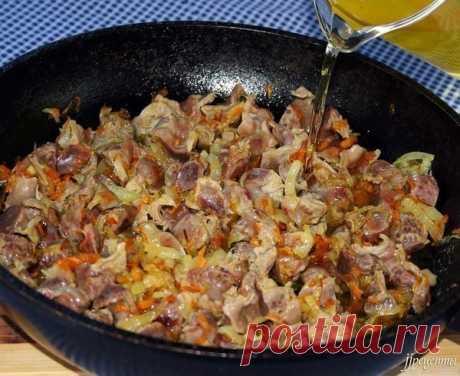 7 recetas de la preparación vkusneyshih de los estómagos de gallina. ¡Muy barato y es muy sabroso!!!