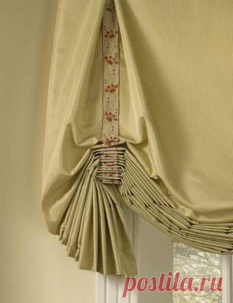 Английские шторы: фото в интерьере кухни и гостиной