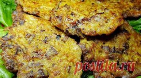 (Видео) Рецепт рубленных котлет из куриной печени с овощами. Теперь готовлю только так-Одна Минута Хозяйки могут сравнить, что котлеты, приготовленные по такому рецепту, разительно отличаются от стандартных из фарша.
