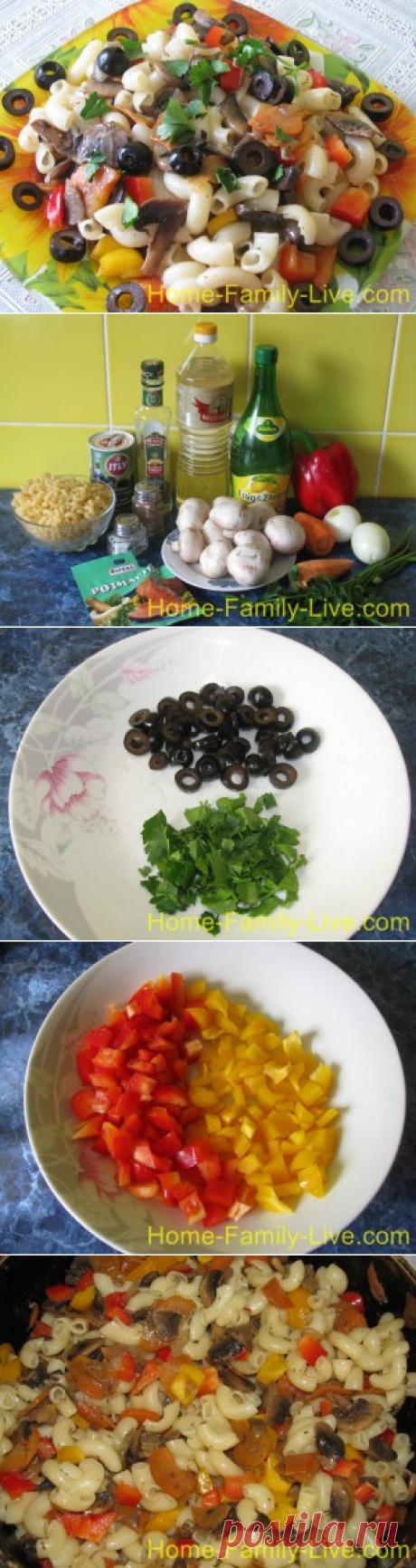 Салат Миланский -пошаговый фоторецепт - постная кухняКулинарные рецепты