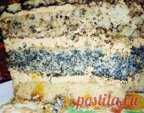 Торт «Три богатыря» — старый домашний рецепт