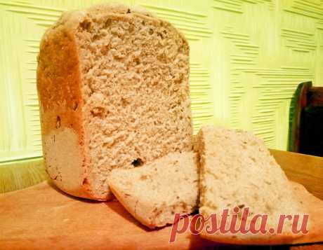 """Хлеб из дрожжевого теста """"Максимум пользы"""", в хлебопечке - рецепт с фото пошагово"""