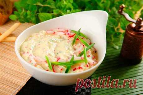 Сметанный соус для закусок - пошаговый рецепт с фото.