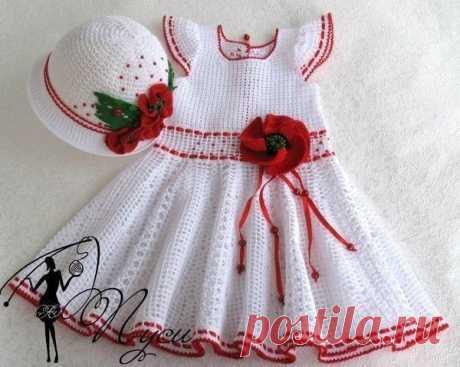 Детское платье от Пуси