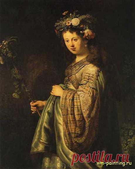 Представляю на Ваше обозрение шедевры мировой величины- живопись, (голландская школа). Речь пойдет о Рембрандте. Рембрандт ван Рейн родился 15 июля 1606 года в Лейдене в семье мельника среднего достатка; он был восьмым ребенком и единственным, об образовании которого родители позаботились особо. Он учился в латинской школе и в университете, когда его склонность к живописи проявилась столь определенно, что он оставляет университет, по тем временам вряд ли юноша мог это сделать без согласия в семь