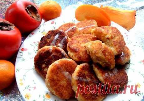 Сырники с хурмой — Sloosh – кулинарные рецепты