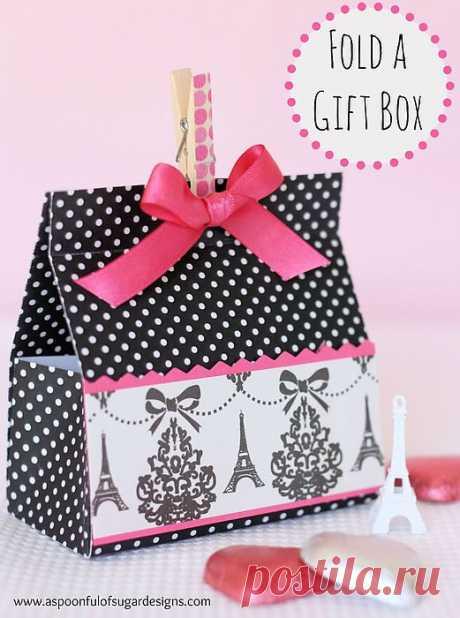 Подарочная упаковка-сумочка