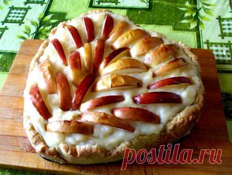 Нежнейший пирог с яблоками и заварным кремом Лакомка - МирТесен