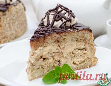 """Бисквитный торт с безе """"Паутинка"""" – кулинарный рецепт"""