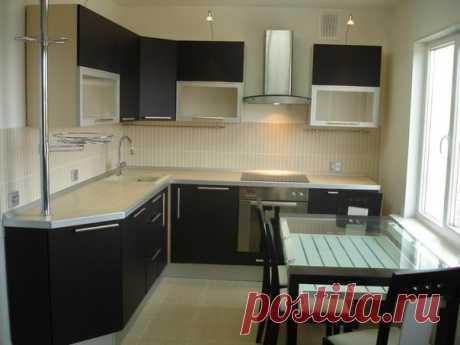 Дизайн кухни, 6 кв. м