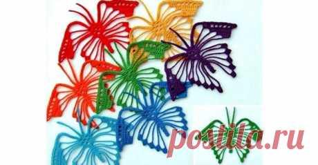 Вязаные бабочки на любой вкус! Взмах крыла-вязаные бабочки…. - Домоводство - медиаплатформа МирТесен В интернете очень много схем вязания бабочек, можно выбрать на любой вкус. Мне больше нравятся бабочки, которые связаны крючком. Лично себе в свое время скачала несколько схем, но так до сих пор и не связала. Бабочки связанные по предложенной схеме вязания крючком получаются нежными, легкими.