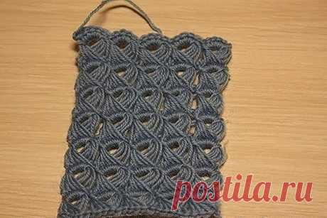 Чудесный узор — перуанское вязание