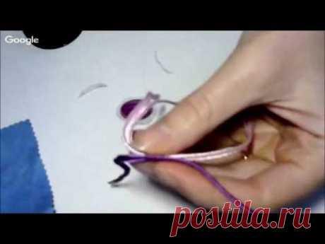 Обучающий урок по сутажной вышивке 1