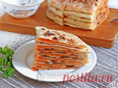 Хингалш — рецепт с фото Изумительно нежные чеченские лепешки хингалш с пикантной или сладкой тыквой не смогут оставить вас равнодушными.