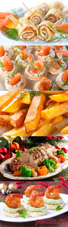 Новогодний стол 2017 года: рецепты оригинальных блюд