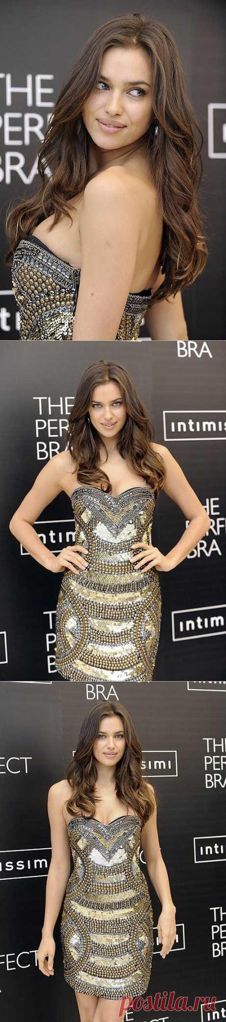 Платье Ирины Шейк / Звездный стиль / Модный сайт о стильной переделке одежды и интерьера