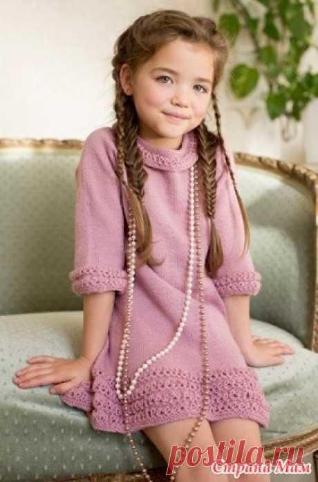 """. Платье для девочки """"Спящая красавица"""" в моем исполнении - Вязание - Страна Мам"""