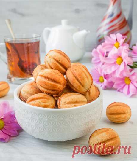 Рецепт орешков со сгущенкой на Вкусном Блоге