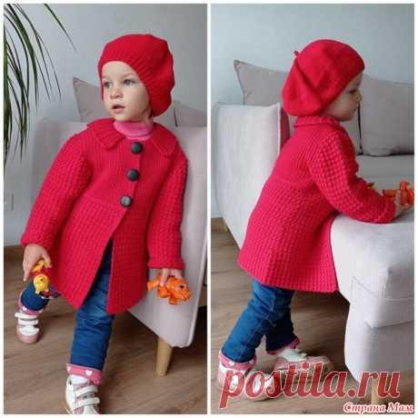 Пальто Леди - Вязание для детей - Страна Мам