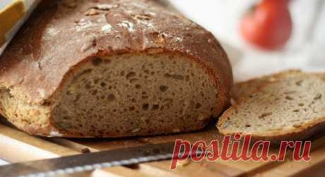 Хлеб на закваске без дрожжей   Деревенское хозяйство