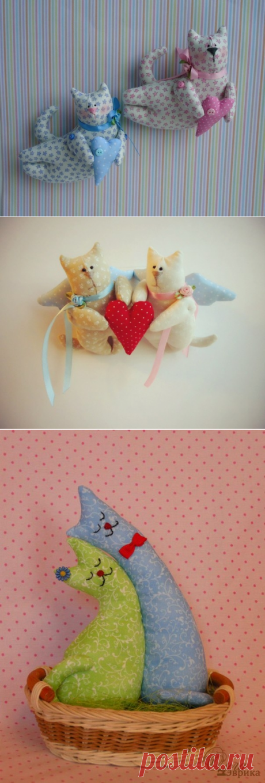 Влюблённые котики