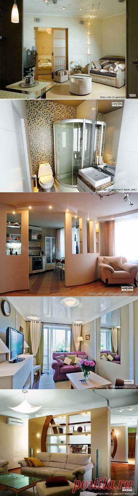 10 идей для интерьера квартиры-хрущевки.