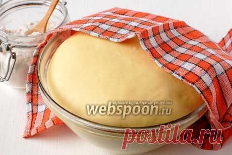 Fancy barmy sponge dough with a photo | the Recipe of fancy yeast dough on Webspoon.ru