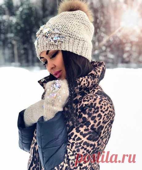 Модные вязаные шапки | Журнал Ярмарки Мастеров